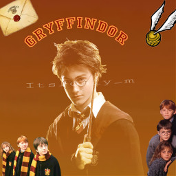 harrypotter harry potter griffindor slytherin hufflepuff rawenclaw heminegranger ronweasley hermine granger weasley red yellow freetoedit
