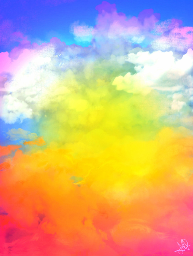 #freetoedit #picsart #mydrawing #sky #background #clouds #colorful #remix #remixit
