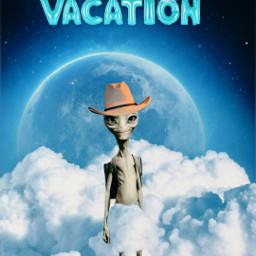 freetoedit remix editedbyme mrlb2000 alien vacation lol awesome fun universe enjoy
