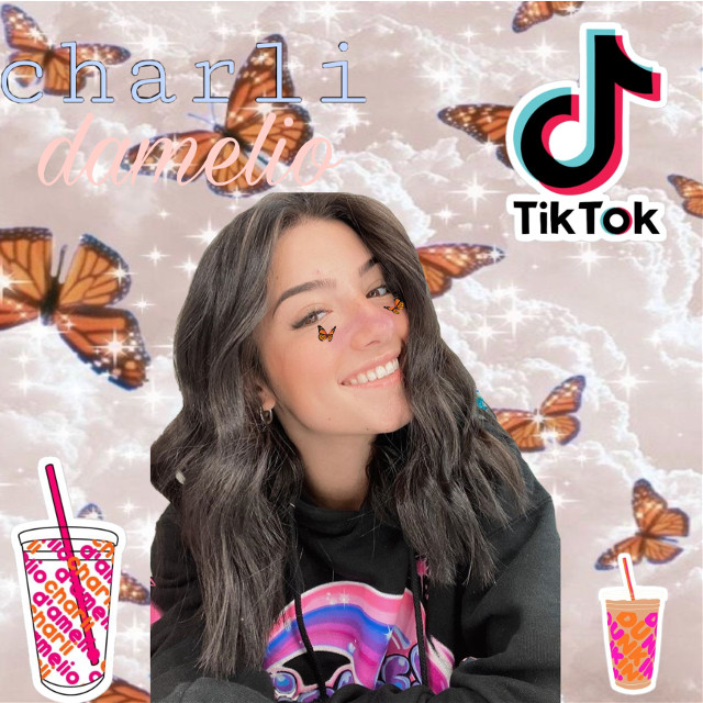 #charlidamelio #tiktok #dunkindonuts #beautiful