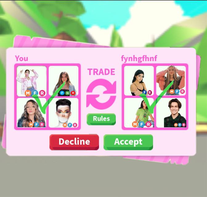 Fair trade?? #adoptmetrades #tiktokers
