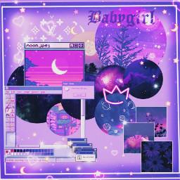 purpleaesthetic wallpaper freetoedit