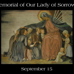 ourlady sorrows dolores mary madonna blessedvirgin mantle mother september15 freetoedit