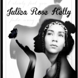 julicarosekelly silhouette singer beautiful fx