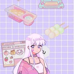 kawaii anime japan snackstime freetoedit