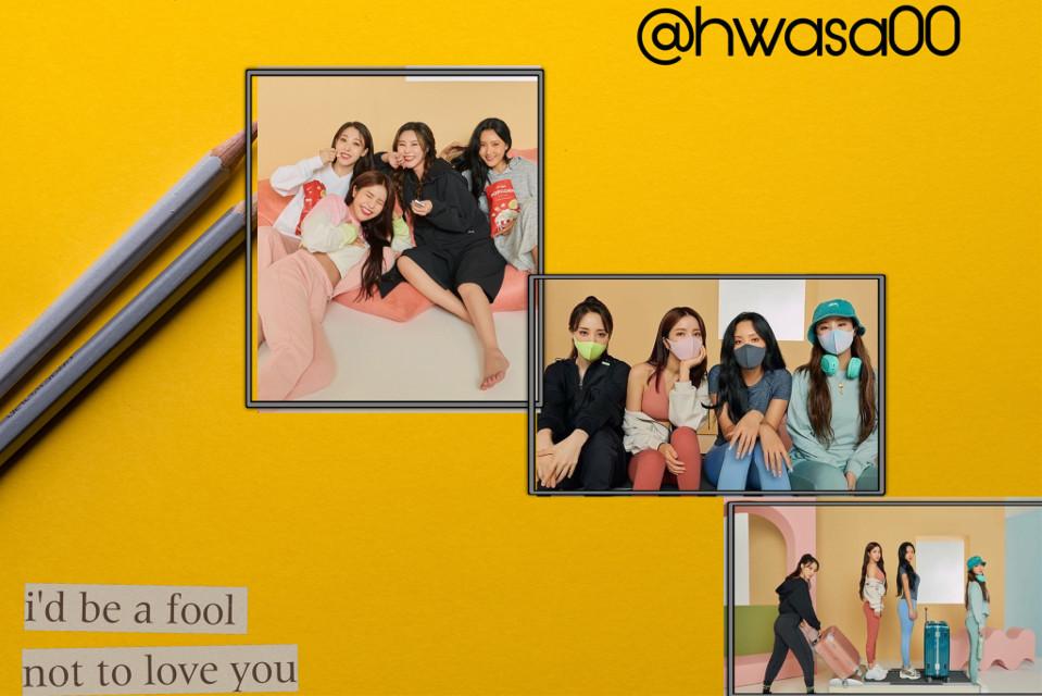 #mamamoo #hwasa #solar #moonbyul #wheein      Cute editor @rabar.rawandzy1 @vx_kpop @bangtan_boys_jimin 💝