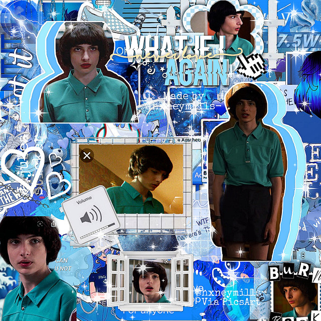 Question!!! Why is stranger things so addicting? Like why? The mike stickers belong to @hxneymills- so yeah! Go check her account out. @11_eggo-waffles  @-problomatic-crybaby  @thetrashmouth  @11_milliexsadie_11 💜❤💜❤💜❤ @strangerskittles  @billie-my-boo  @bils-avocads