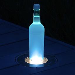 freetoedit myphoto bottle bottlelight beautiful color art photography night nightphotography puertorico picsart picoftheday picsartshoutout
