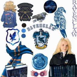 lunalovegood ravenclawaesthetic ravenclaw hogwarts harrypotter freetoedit
