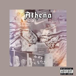 athena text album aesthetic rainbow aestheticgrey grey aestheticalbum albumcover arianagrande god olympus percyjackson annabethchase freetoedit