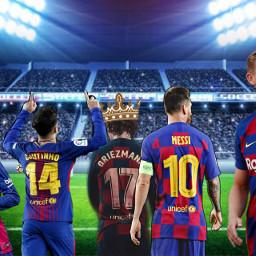 foot barcelona football antoinegriezmann messi neymar