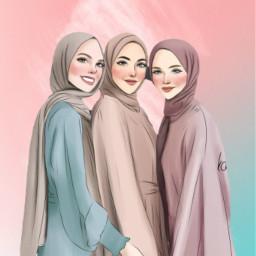 interesting art muslimgirl freetoedit