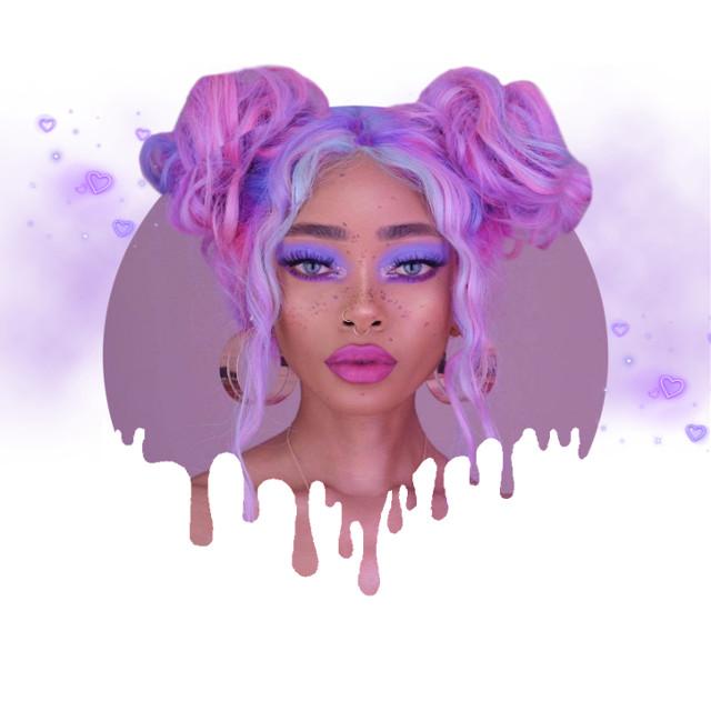 INSTAGRAM: @margo34277 YOUTUBE CHANNEL: MARGO PICSART #girl #makeup #eyeshadows #eyeliner #maquillaje #lips #morado #purple #aesthetic #tumblr #sun #bronzer #colors #glow #glowing #glitter