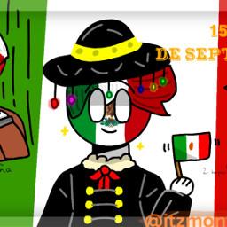15deseptiembre 16deseptiembre countryhumans mexico freetoedit