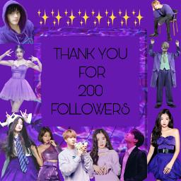 200followers thankyou supporters freetoedit kpop