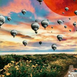 freetoedit starseeds warriors parachutes