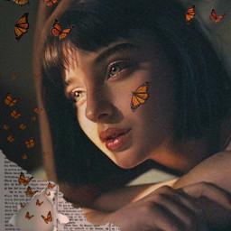 freetoedit remixit plzfollow followforfollow prettygirl digitalartgirl photography monarchbutterflies newspaper ripped beautiful teen nocopyrightintended freepfp goldenhour glowing