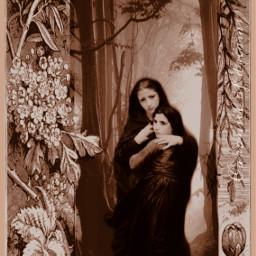 sisters magicwood ecartisticalphabet artisticalphabet freetoedit