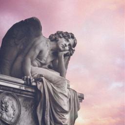 angelaesthetic pinkcloudsunset freetoedit