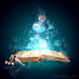 book magic potions shutterstock stickers motionblureffect duplicate reflection playingwithpicsart myimaginationatwork freetoedit