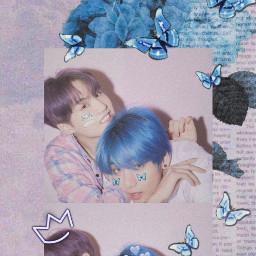 blueaesthetic aesthetic purpleaesthetic pastel bts yoongi taegi taehyung minyoongi kimtaehyung btsv btssuga suga v bangtan bangtansonyeondan wallpaper kpop freetoedit