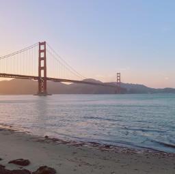 freetoedit goldengatebridge sanfrancisco background