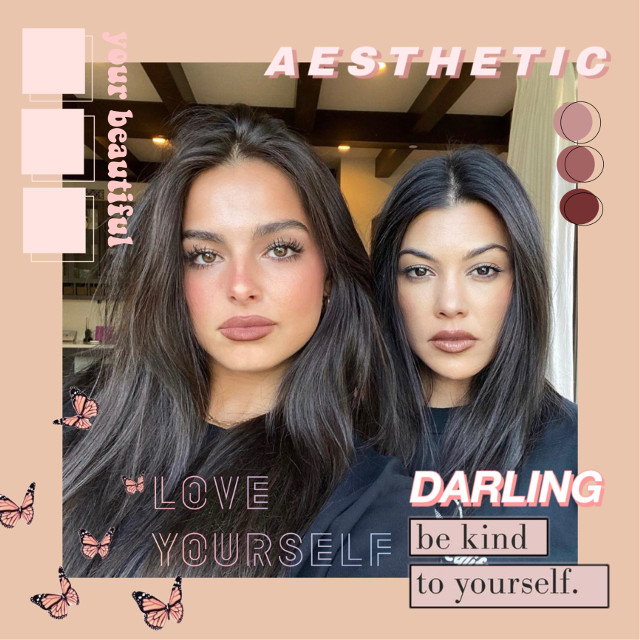 #replay #edit #peach #pink #stickers #aesthetic #peachaesthetic #pinkaesthetic #kourtneykardashian #addisonrae #makeup #beautiful #popular #models #model #famous #rich #tiktok #addisonraeedit #colourful #beautiful #cute #pretty #instagram #wow