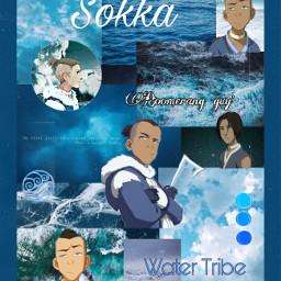 freetoedit sokka watertribe avatar blue