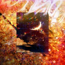 quadro quadronegro galaxy outono freetoedit ircchalkboarddesign chalkboarddesign