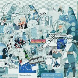 borutonarutonextgenerations mitsuki blueaesthetic team7naruto prequelapp bluehair mitsukisage anime shows cute fangirling101 freetoedit