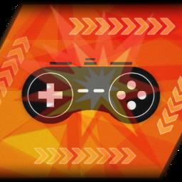 gaming console manette jeuxvideo couleurs fun fan style magnifique logo dessin piscart
