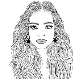 adissonrae mydrawing outlineart outline outlines outlinegirl freetoedit