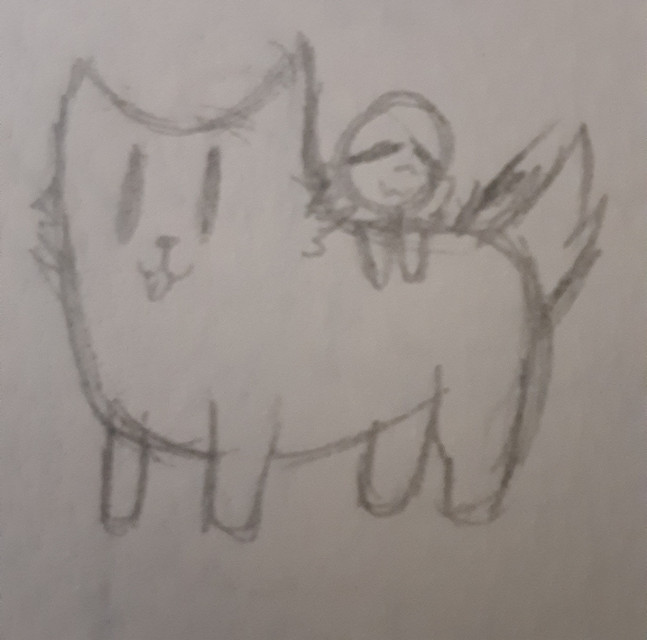 ~Request done~  @jackieskywater   I cAn'T dRAW anImAlS  Anyways, here you go :>  #dog #fluffy #lust #lustsans #underlust #underlustsans #undertaleaus #annoyingdog #undertale #cuddle #doggo