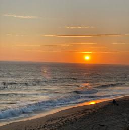 sunset freetoedit beach california sea sky summer malibu