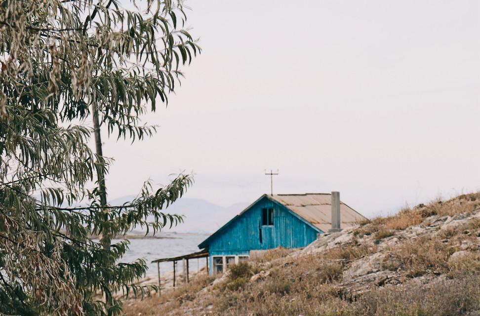 #hut #nature #lake #autumn