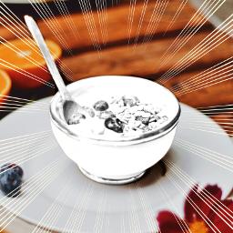 breakfast picsart