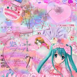 pastel animecore pastelgrunge kawaii anime y2k 2000sanime freetoedit