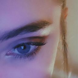 aesthetic picsart photography eye aesthetics makeup aestheticphotography lifestyle blueeyes vynl noise instagramfilter freetoedit