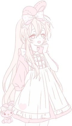 cuteanimegirl animegirl kawaii mymelody pinkanimegirl anime cute freetoedit