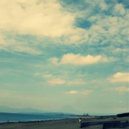 sky ocean sea
