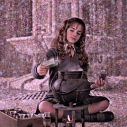 harrypotter replay freetoedit. remixed remixme hermionegranger dracomalfoy fx aesthetic hogwartsaesthetic freetoedit