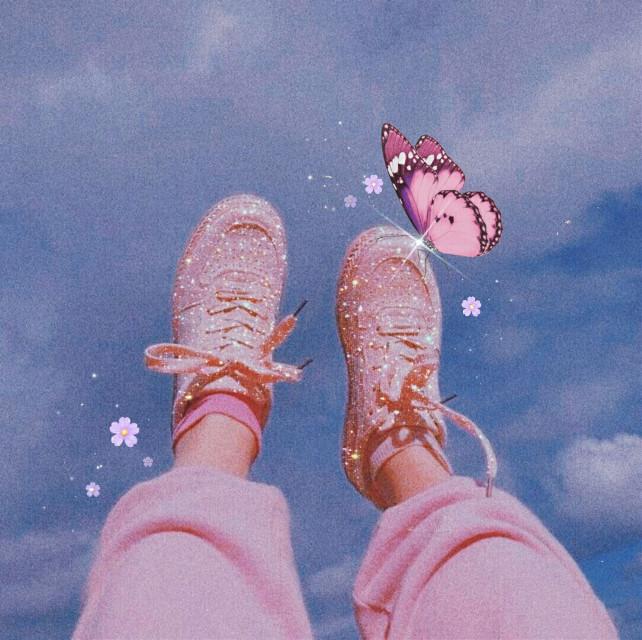 🌸💖 #papicks #picsart #cute #pink #aesthetic #aesthetics #aestheticedit #butterflies  #butterfly #bling #girly #girl ls #girl #shoes #heypicsart  @picsart
