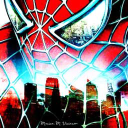 drawing hdr colors manipulation superhero freetoedit