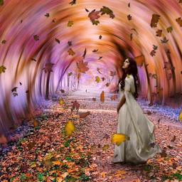 heypicsart surreal autumn autumnleaves autumncolors myphoto myedit madewithpicsart picsarteffects hueeffect curvestool blureffect radialblur freetoedit