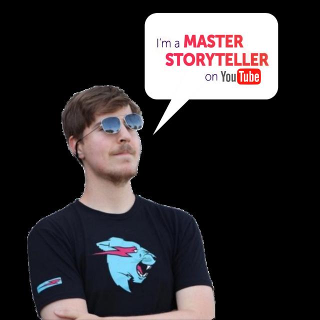 #mrbeast #beast #masterstoryteller #picsartmaster #youtube #storytelling #mrbeaststickers #chandler #carl