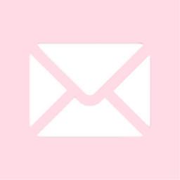email app shortcut aesthetic pink lightpink pinkaethetic mail