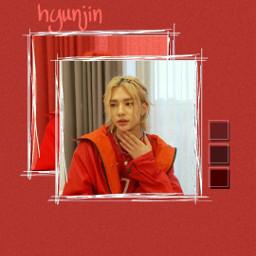 freetoedit hwanghyunjin hwang hyunjin wallpaper wallpaperkpop red straykids straykidshyunjin faneditkpop fanedit edit aesthetic mingausan