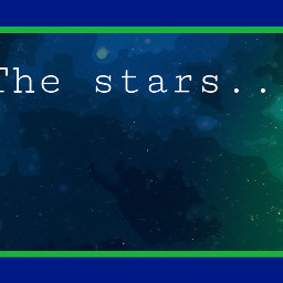 space backgroundedits stars