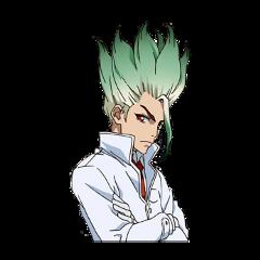 senkuishigami drstone anime chemistry physics genius senku freetoedit