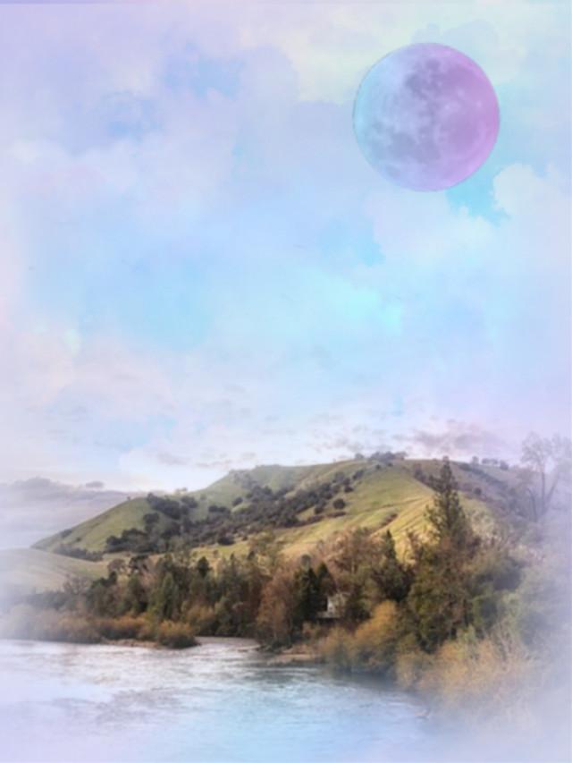 #heypicsart #scenery #naturesbeauty #cloudsandsky #skylovers #skyporn #colorlove #colorful #pastelcolors #aestheticedit #artistic #becreative #makeawsome #myedit #madewithpicsart
